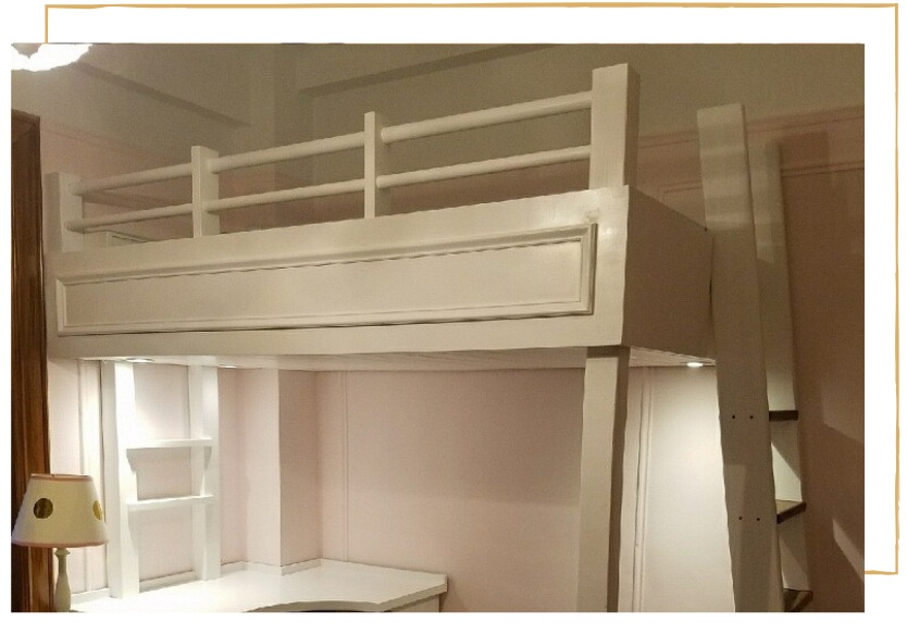 """Loft Beds for Kids - From Kids bunk beds, to giant """"lofted space"""" this new page shows how we design, build, and create fun space you and the young'uns will LOVE!Learn more →"""