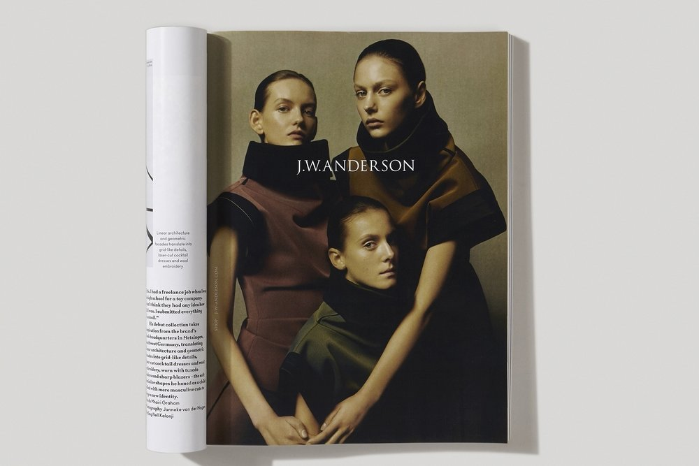 JW Anderson shot by Jamie Hawkesworth