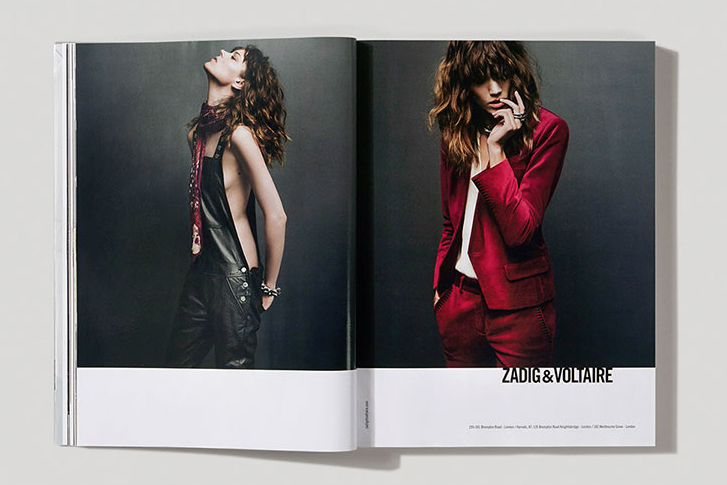 Zadig & Voltaire Main Campaign shot by Inez and Vinoodh