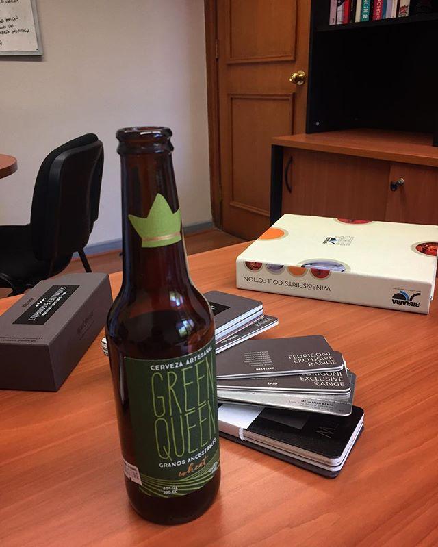 Muestra de nuevos papeles #etiqueta #mejorarparacrecer 🍻#greenqueen #glutenfree #beer 🌿