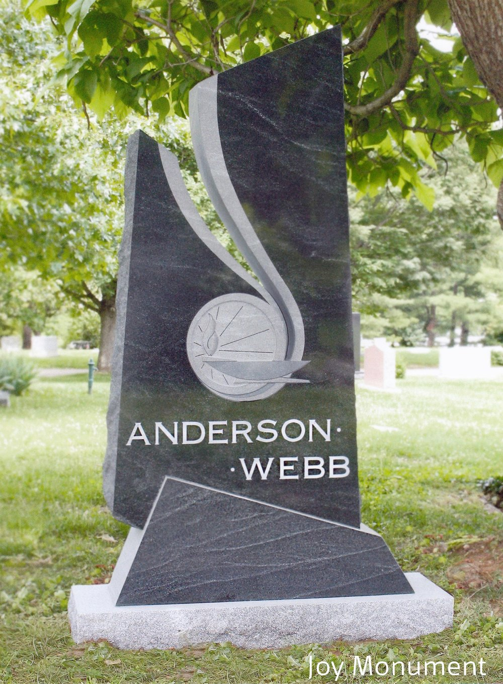 "1st Place Medium Monuments ""Anderson-Webb"", Joy Monument, Terry Joy, AICA"