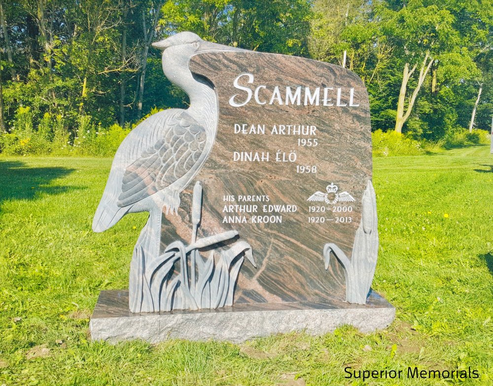"2nd Place Sculpture Monuments ""Scammell"", Superior Memorials, Carl Dawson"