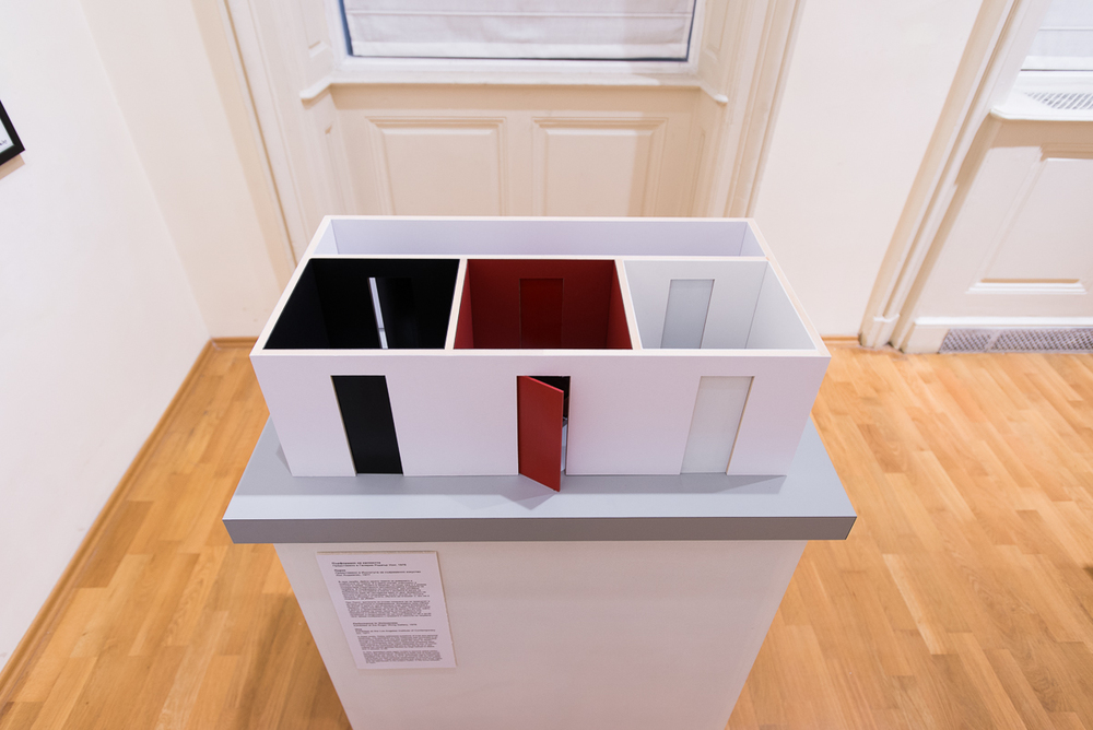 Reconstructed model, Installation, National Gallery of Art, Sophia, Bulgaria, 2015