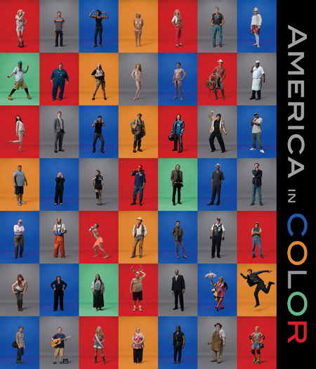 AMERICA IN COLOR    BOOK FORMAT   HARDCOVER, 12 X 14 IN. / 336 PGS / 300 COLOR.   PUBLISHING STATUS   PUB DATE  1/31/2014     Purchase artist's signed copies:   $30.00 (+ $3.99 Shipping & Handling)