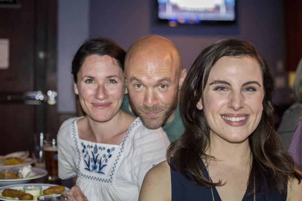 Jamie Kessler Weiner, Aaron Weiner and Mikaela Feely-Lehmann