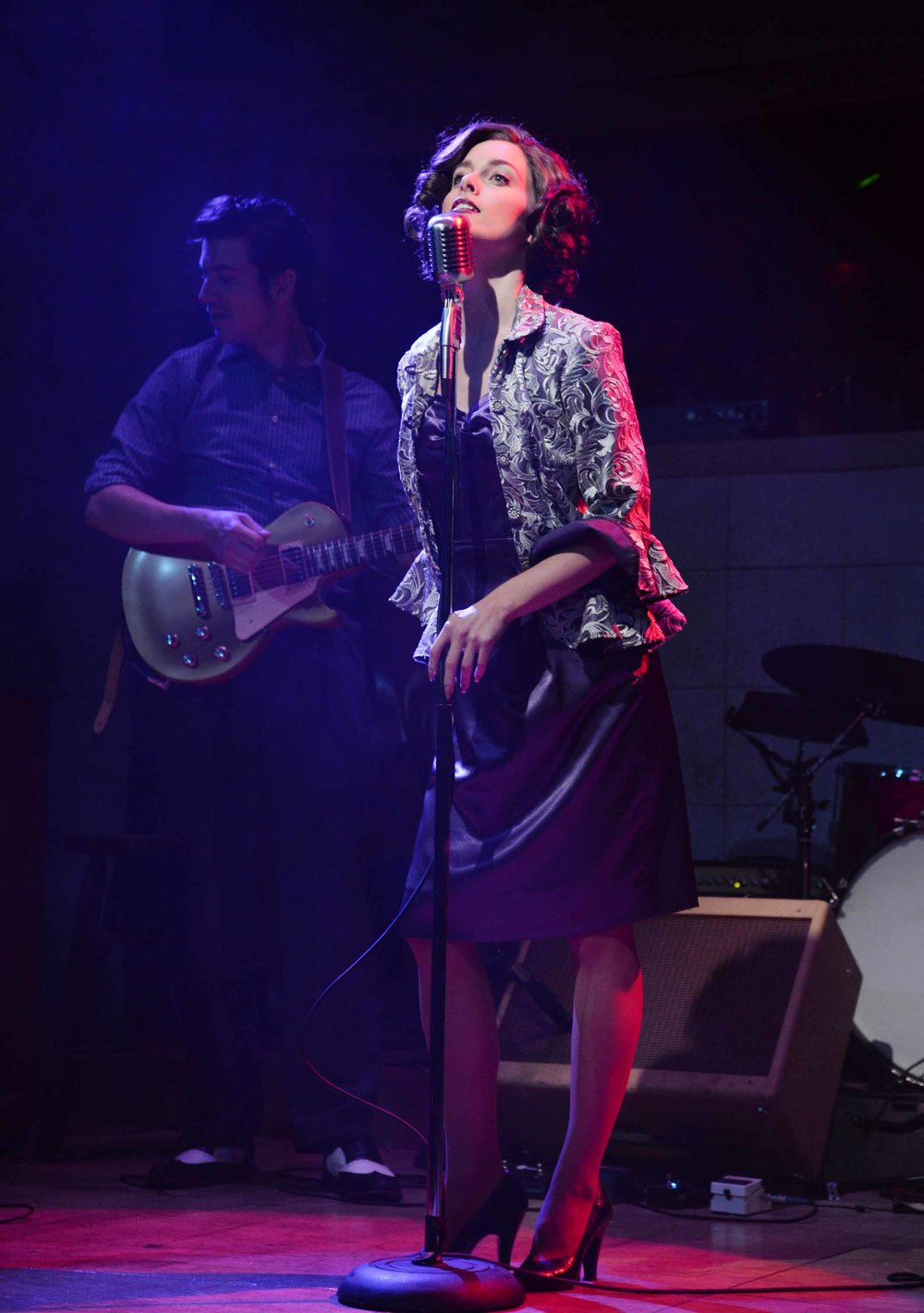 Bailey as Dyanne in Million Dollar Quartet at the New Stage Theatre