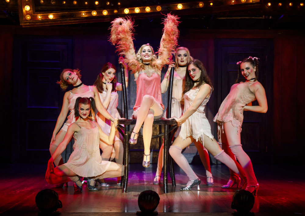 Bailey as Sally Bowles in the 2018 National Tour of CABARET