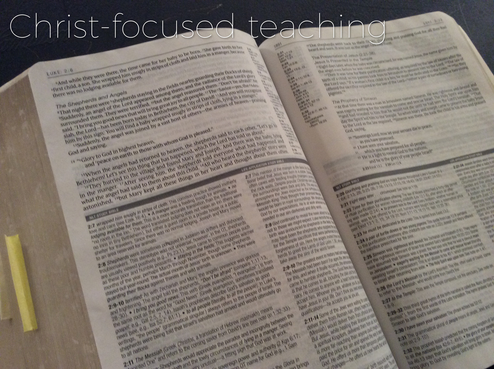 Christ-focused teaching  Because we are  Jesus-focused  and believe that the Bible is the final word ,we make sure that all of our sermons are dedicated to connecting you with God and with those around you. We trust that God's word is relevant, even to those that don't believe in Jesus Christ.