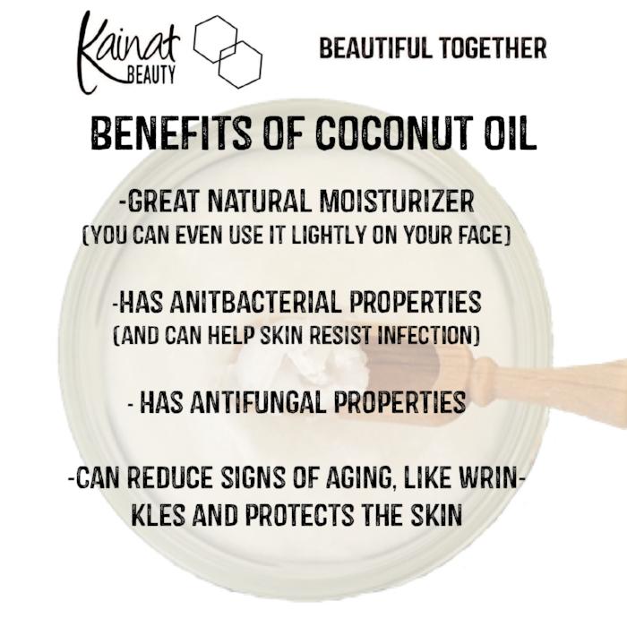 coconut oil, organic coconut oil