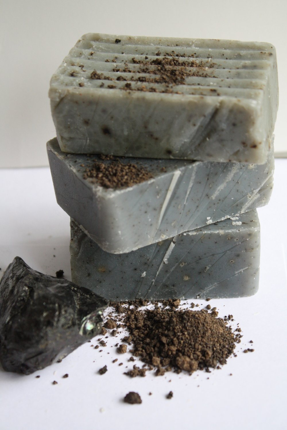 potash, activated bamboo, charcoal, black soap, african soap