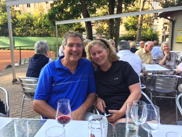 Michael und Gail Edry, BLTC Neumitglieder aus New York