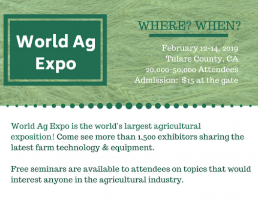 Credit:  World Ag Expo