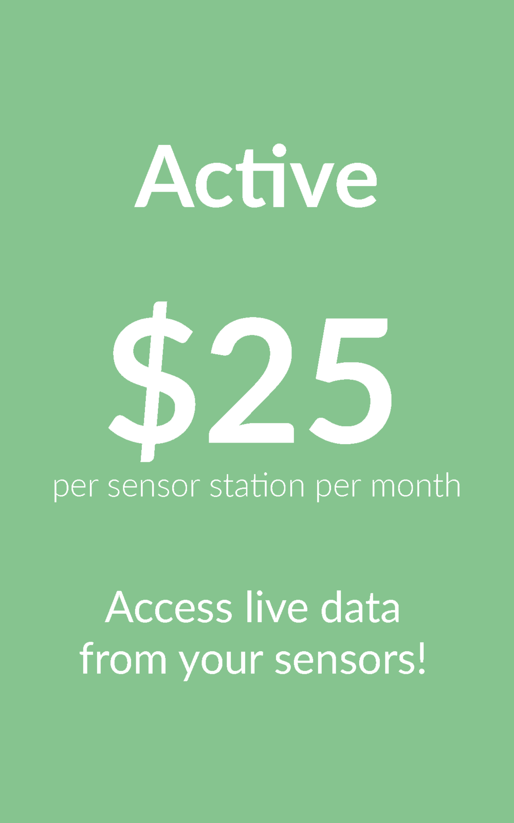 Active Data Subscription
