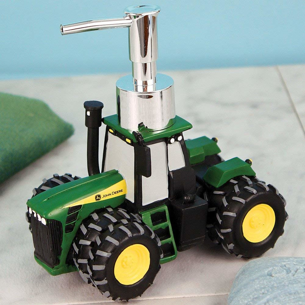 John Deere Tractor Soap or Lotion Dispenser - Know anyone obsessed with their tractor? If so, this might be their dream gift! $28.79