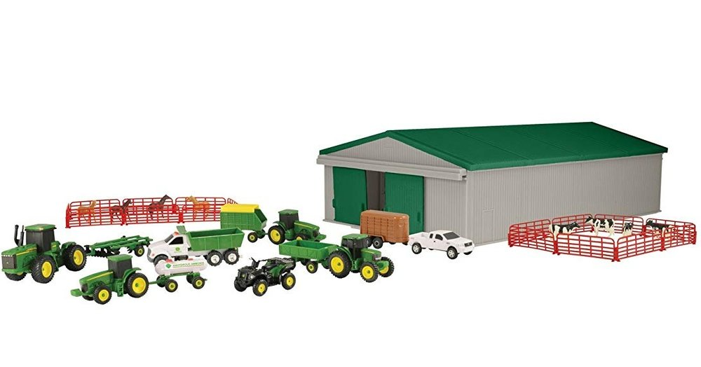 John Deere Toy Set - This set comes with 40 pieces! Perfect for kids with big imaginations. $29.99