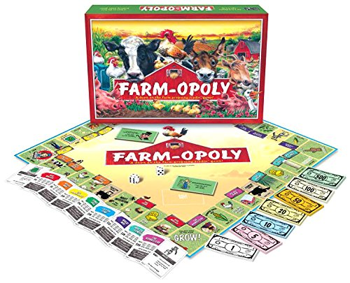 Farm-Opoly - This made-for-kids monopoly spin off incorporates life on the farm! $24.95