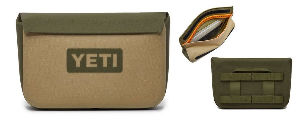YETI Hopper Sidekick Dry - This waterproof tool case is perfect to securely hold your wallet, phone, keys etc while you're out. $49.99