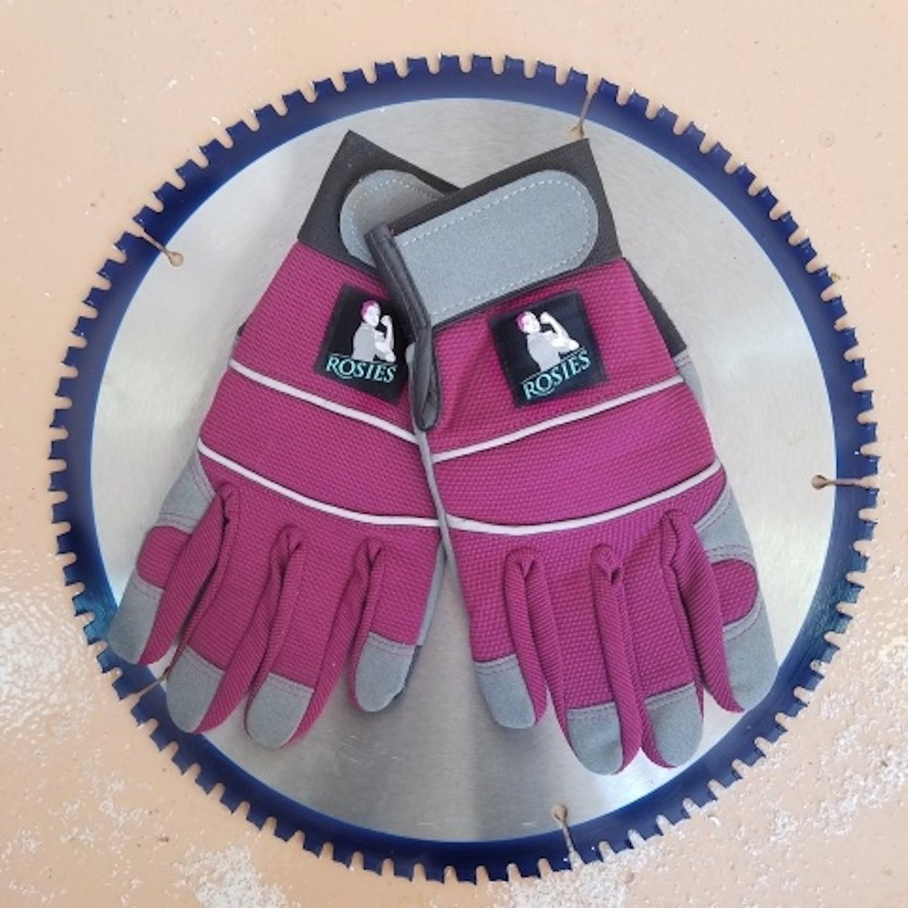 Rosie Work Gloves - These gloves are perfect for the lady farmers in your life! They have velcro wrist adjustments, come in three sizes, and the color is amazing! $17.00