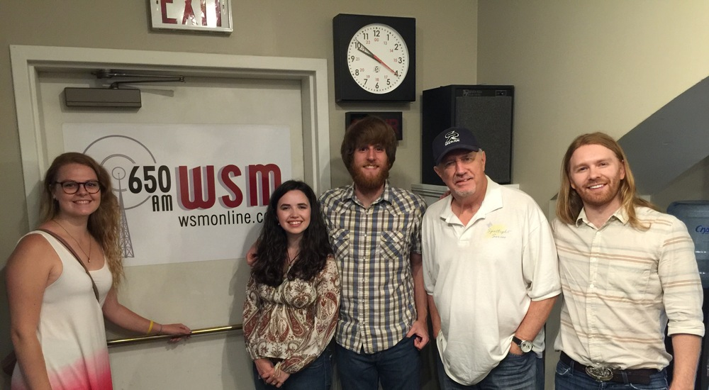 Here we are with WSM host, comedian, and songwriter Bill Whyte!