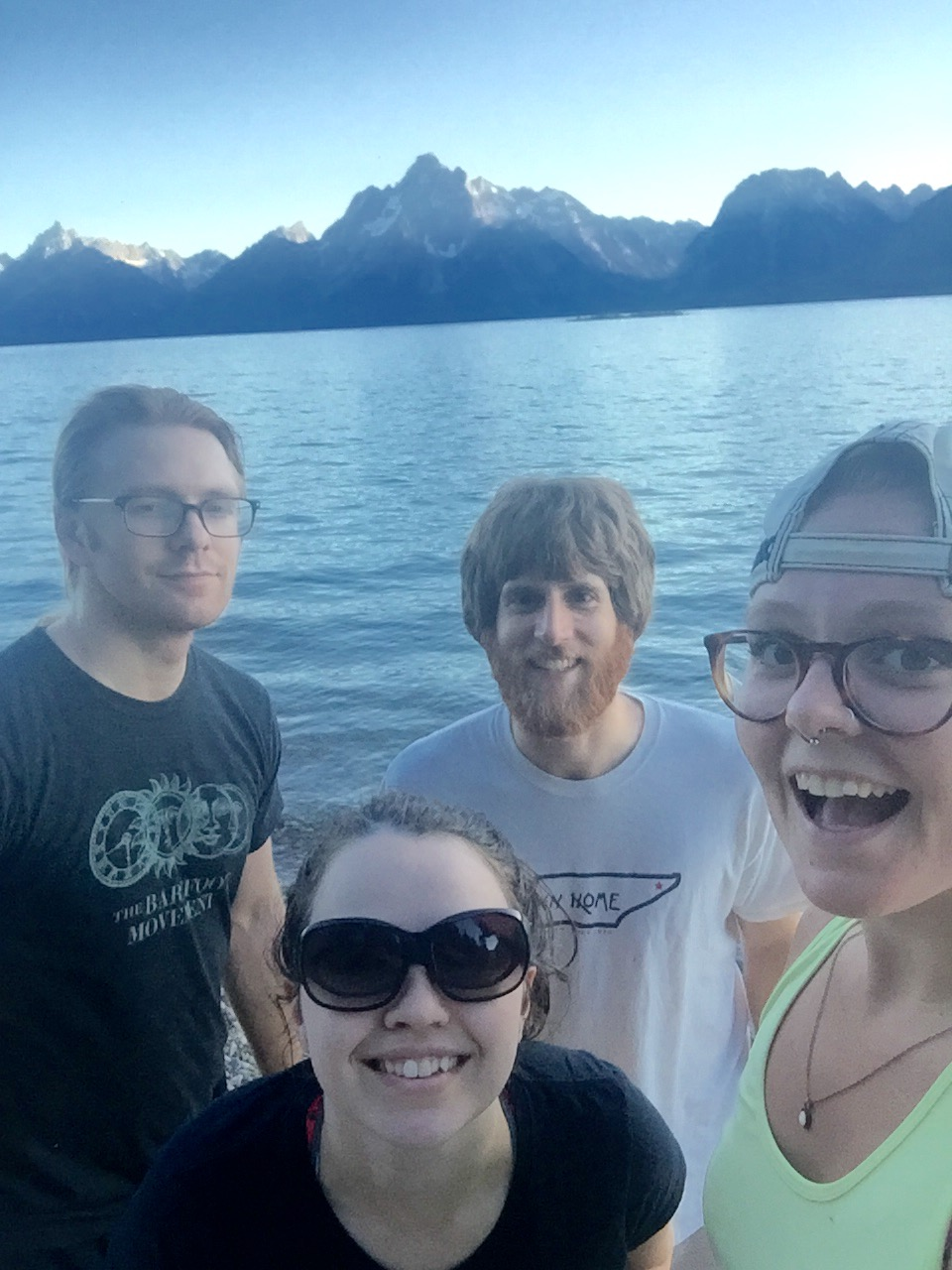 The Grand Tetons on our day off!