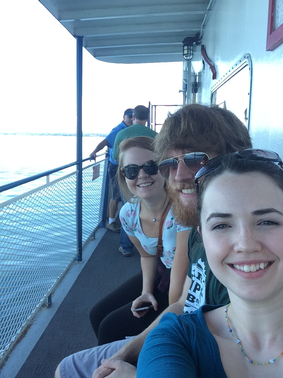 Ferry ride to Madeline Island!