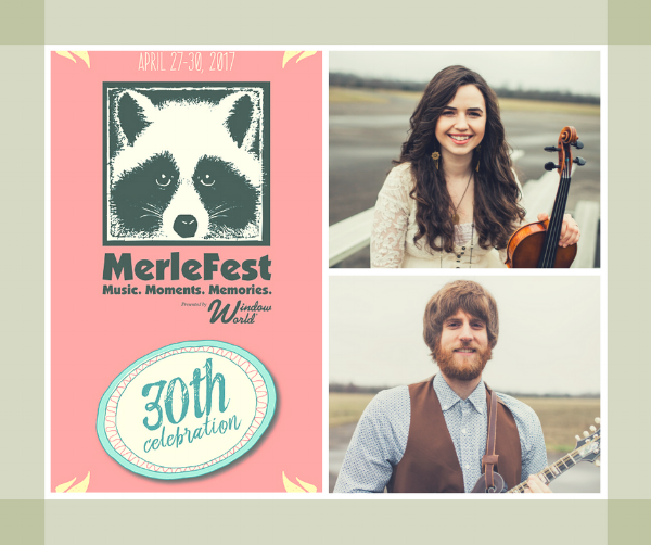 It's quiet over here in Barefoot Land for the next bit, BUT if you're headed to  MerleFest  this year, keep an eye out for our own  Noah Wall  and  Tommy Norris ! Noah will be singing alongside  The Waybacks  (this year featuring the great  Celia Woodsmith  of  Della Mae !) once again for the Hillside Album Hour! (And no, she can't give you any hints about the 2017 album of choice!) And the bearded man himself will be joining  Sam Bush ,  Tony Williamson ,  Sierra Hull ,  Darrin Aldridge , and  Casey Campbell  at the annual Mando Mania session, celebrating all things 8-stringed! Both are thrilled to be a part Merlefest's 30th year celebration, as always in their beloved home state of North Carolina!