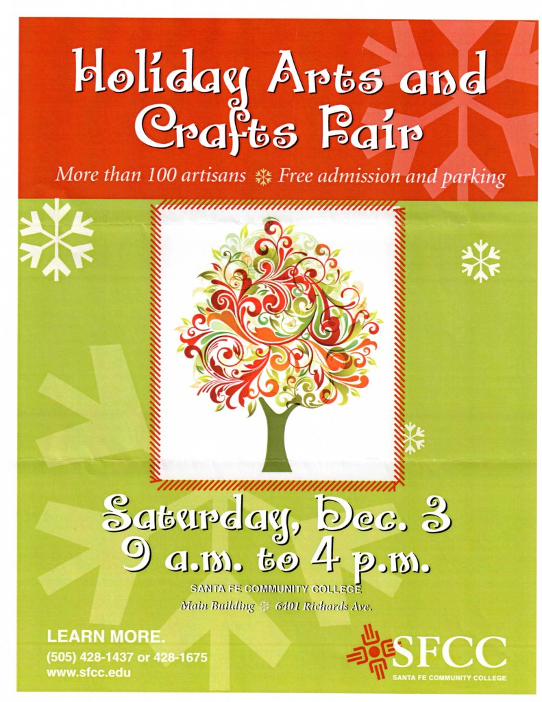 Santa Fe Holiday Arts and Crafts Fair
