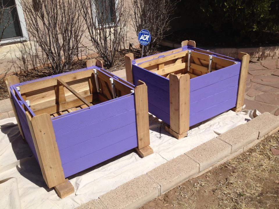 Sabrinah's Art, raised beds
