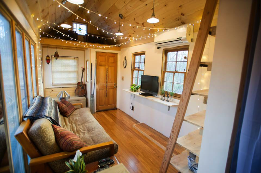sustainable living building a tiny house the stardust
