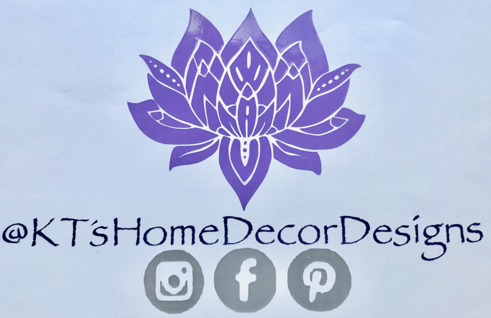 Follow KT's Home Decor Designs on    Instagram   ,    Facebook   , and    Pinterest   .