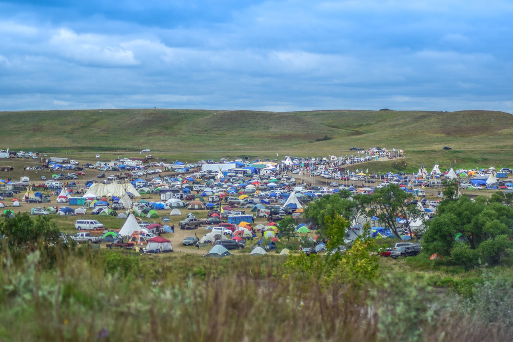Oceti Sakowin Camp // September 9th, 2016.