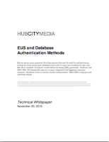 Click here for our EUS and Database Authentication White Paper