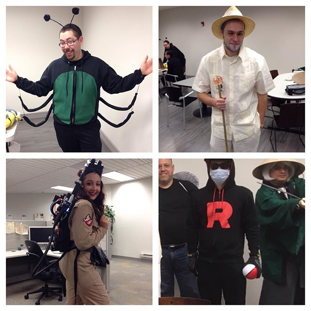 Happy Halloween from Hub City Media! ... ... #Halloween #tech #it #costumes