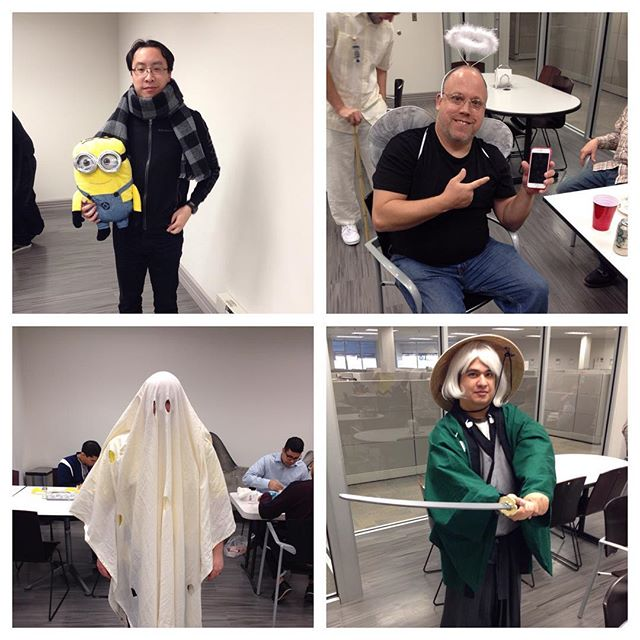 We had some pretty cool costumes this year.... ... ... #Halloween #tech #it #costumes