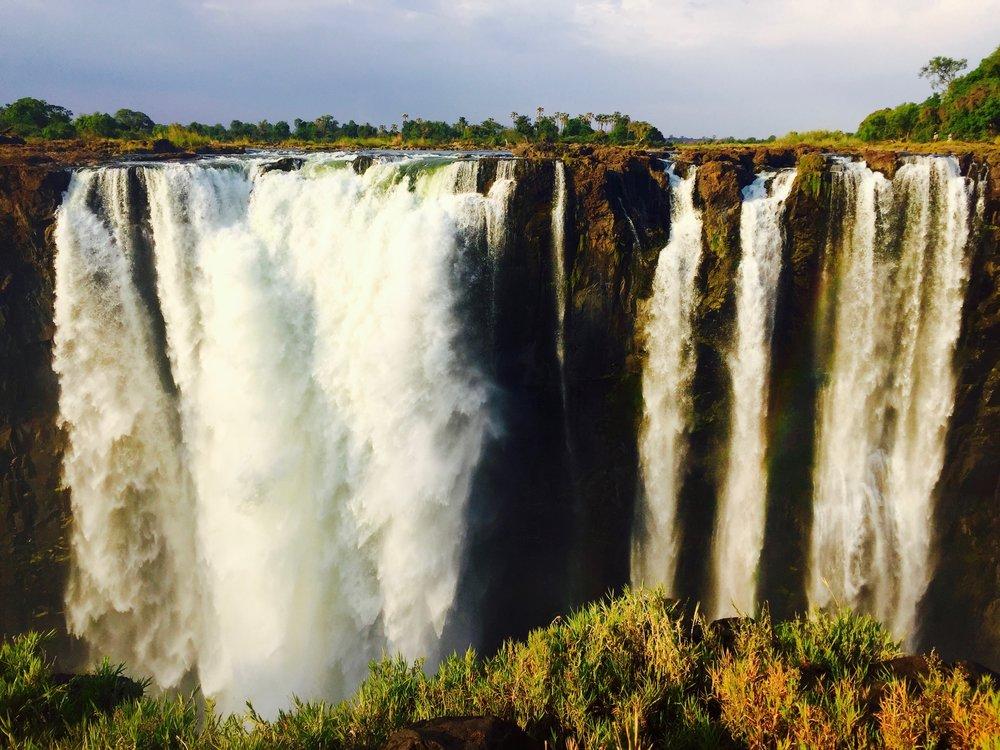 Victoria Falls, Zimbabwe + Zambia