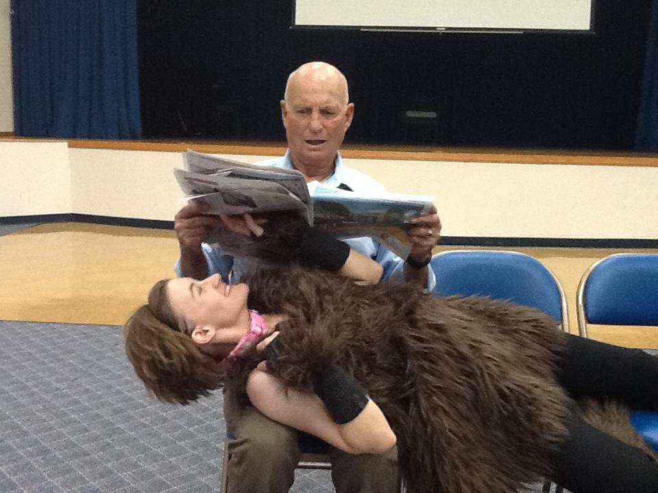 Sylvia & Greg reading
