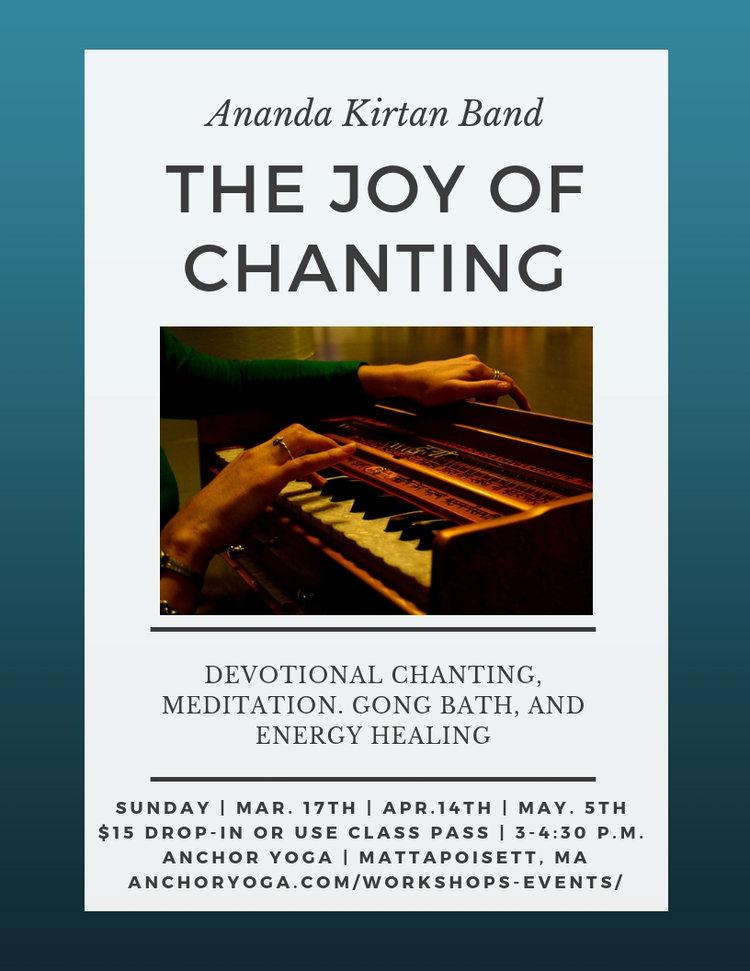 Kirtan Chanting with Ananda Kirtan Band — Anchor Yoga & Meditation
