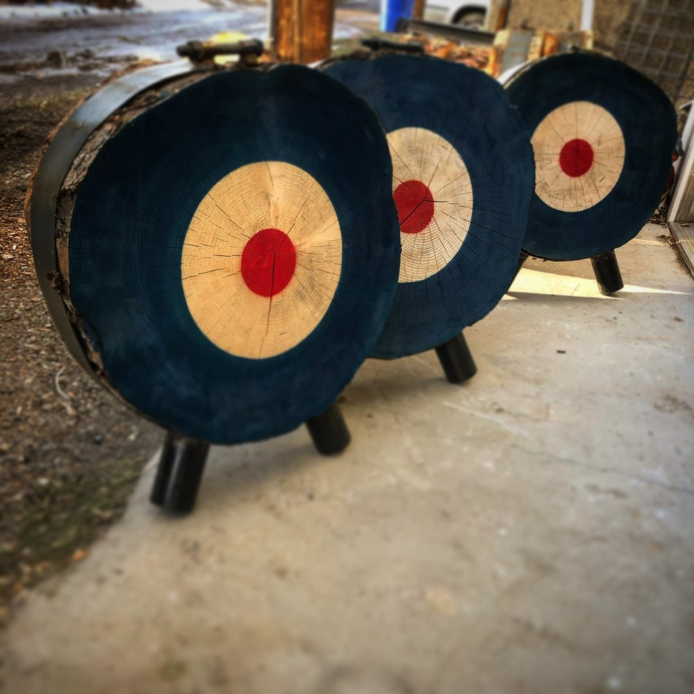 A few targets ready to ship