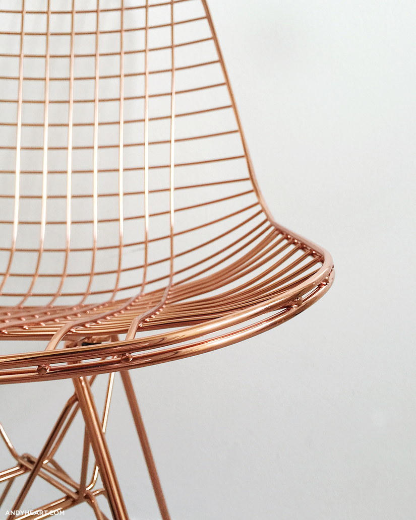 COPPER CHAIR