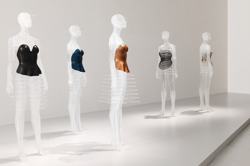 Issey Miyake Exhibit at The National Art Center Tokyo.