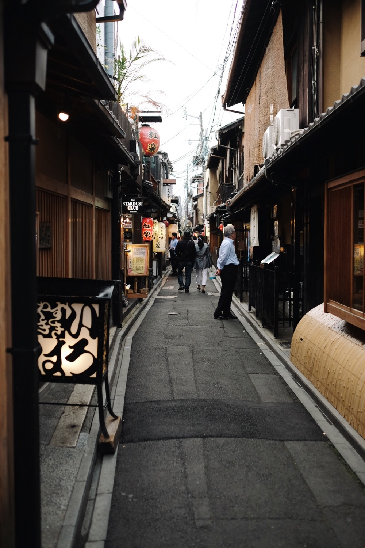 Ponto-cho(先斗町)in Kyoto