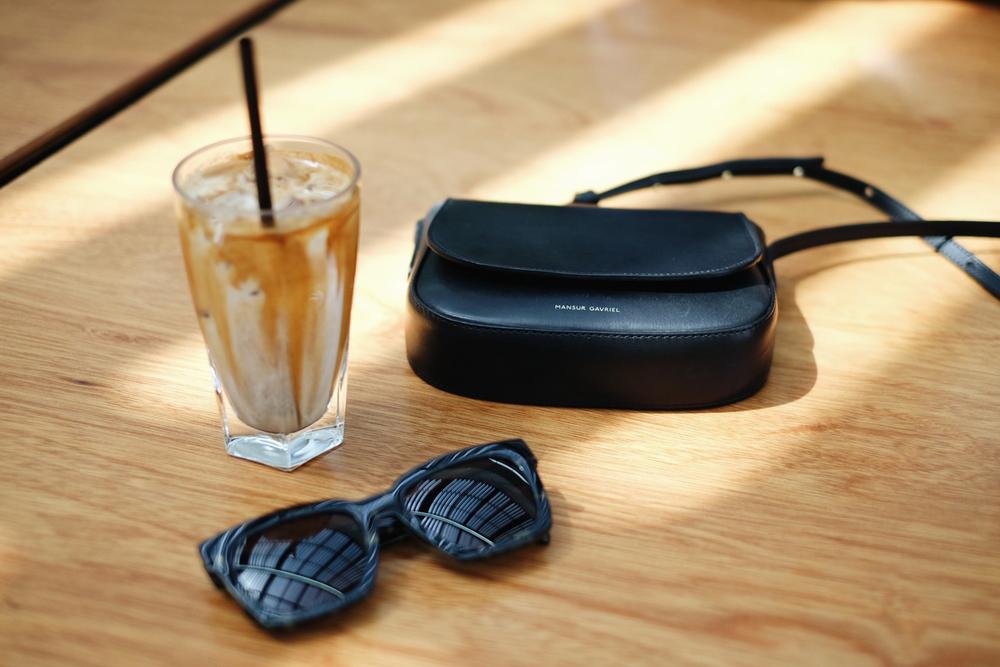 MANSUR GAVRIEL Bag(More here) / GENTLE MONSTER Sunglasses