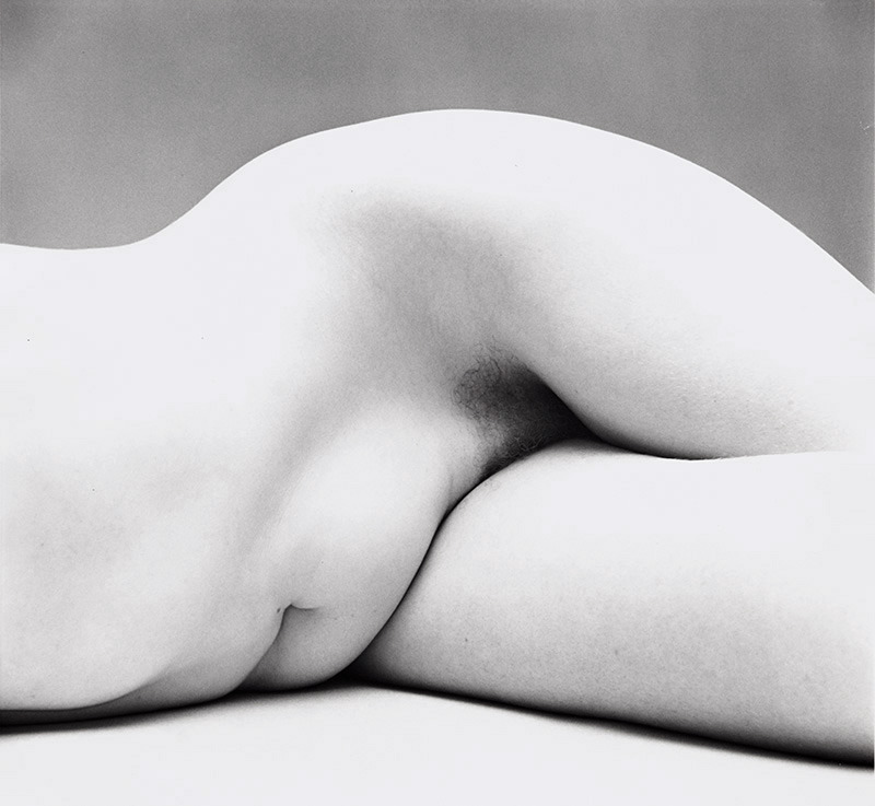 IRVING PENN,  Nude No. 62, New York , ca. 1949-50