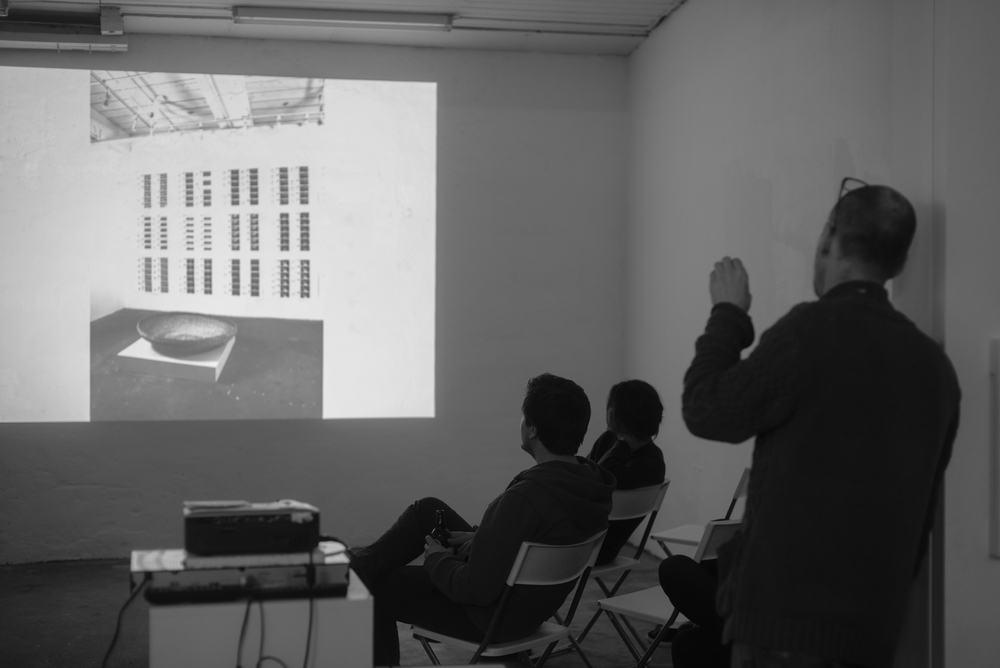 Artist talk by Eric Heist