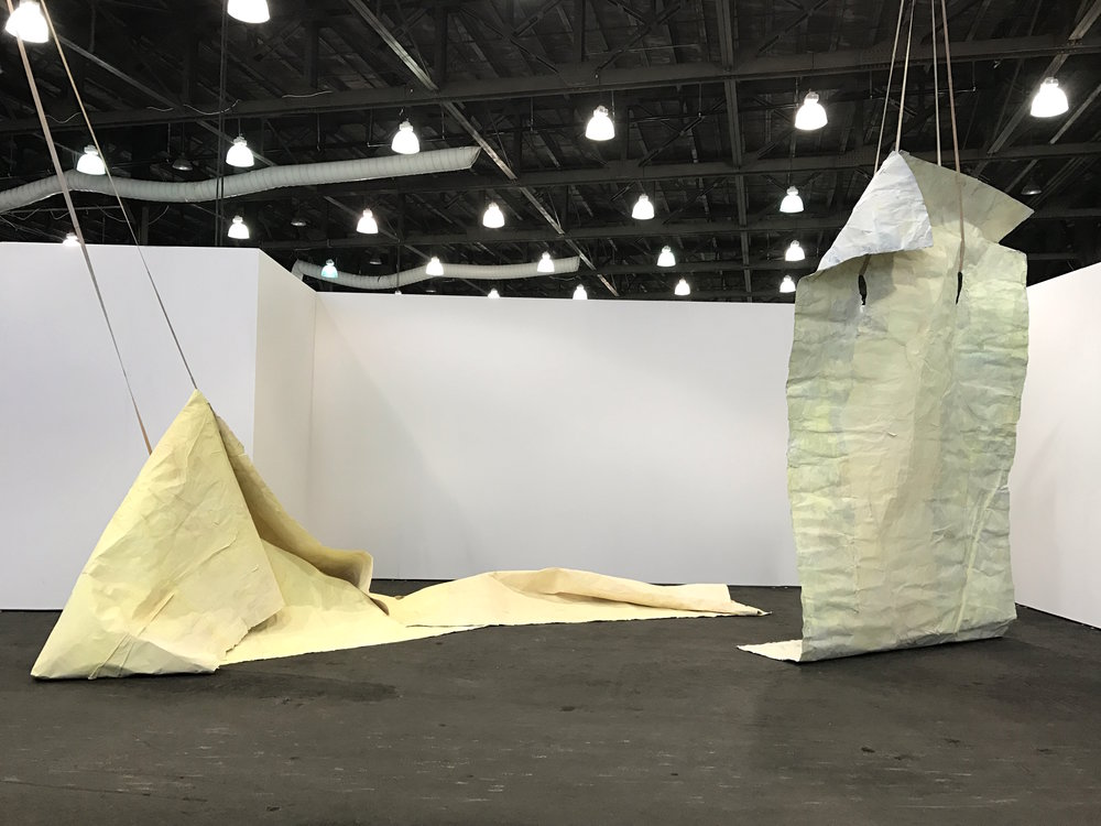 Ann Iren Buan, Drifters (2015), at Untitled Art Fair in San Francisco 2017, presented by Prosjektrom Normanns. Photo: Elin Melberg