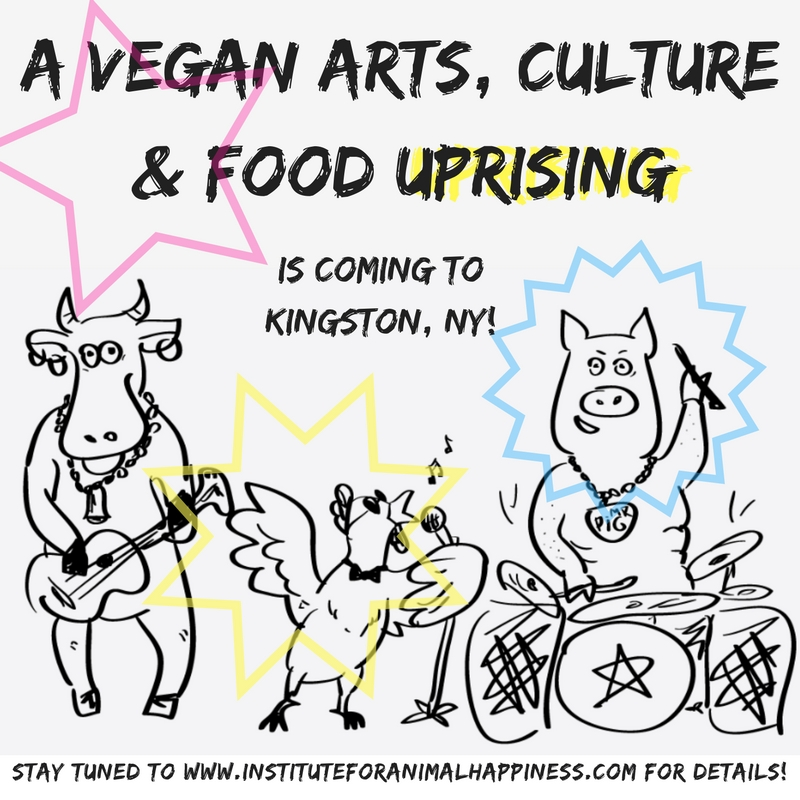 We are planning a Vegan MUSIC & ARTS fundraiser! Click here to contact us for more information.