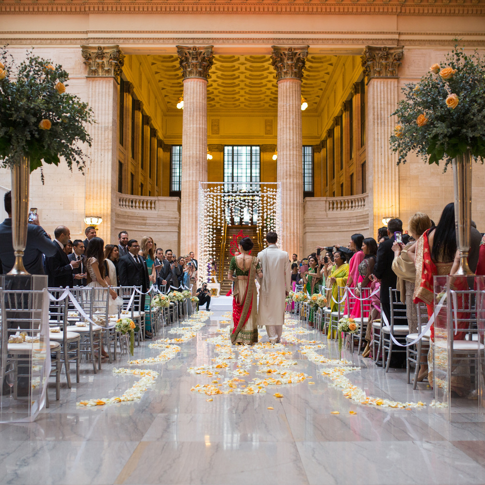 Hindu Wedding Ceremony & Reception at Union Station