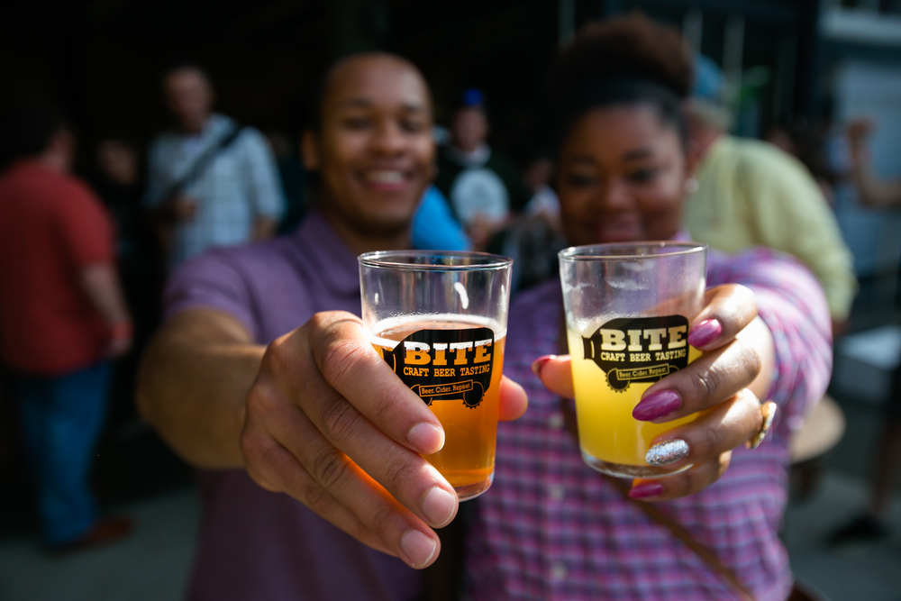 CRAFT BEER & CIDER TASTING       DISCOUNTED EXPERIENCE BITE PACKAGES ON SALE APRIL 1