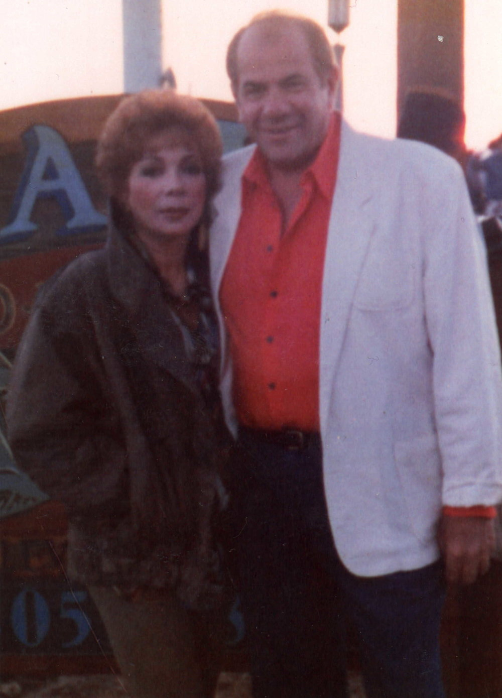 Al Silverman & his wife Iona