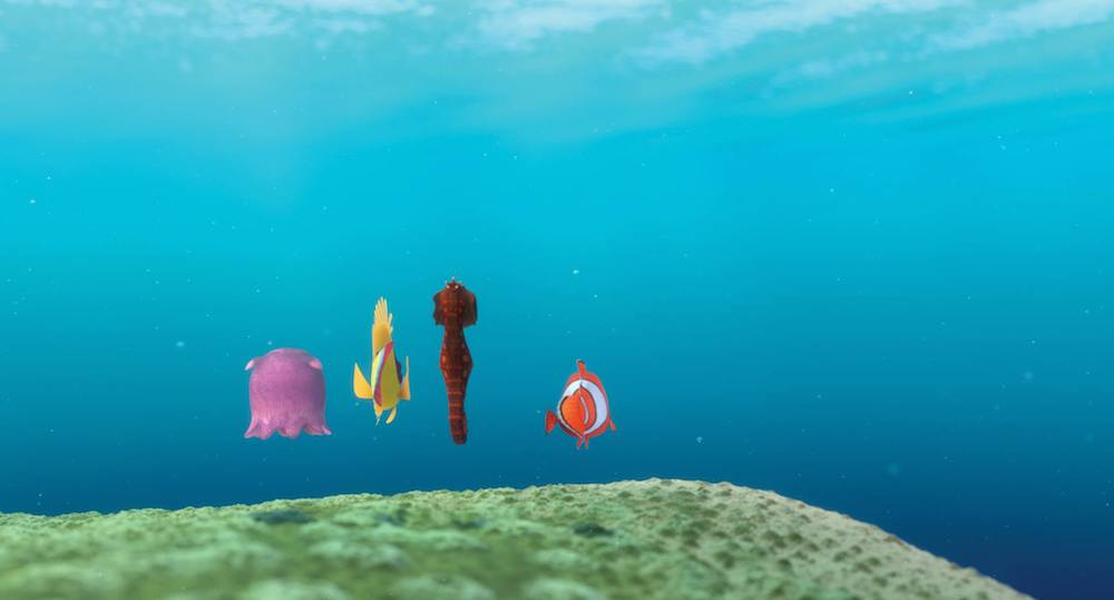 """The Drop-off"" from Pixar's  Finding Nemo"